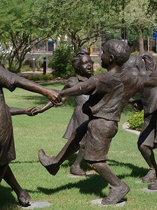 Dancing kids, no sharpening