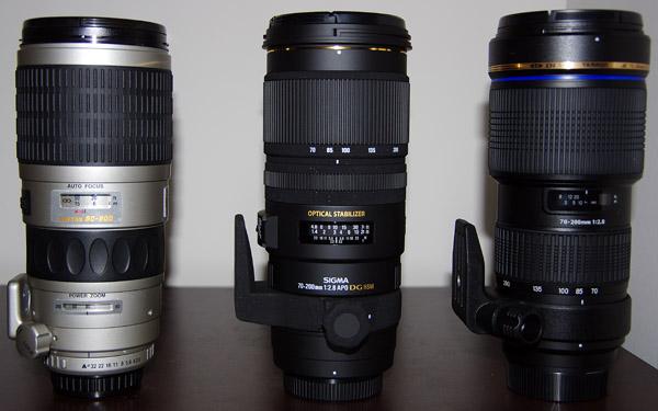 Fast sports lenses for Pentax