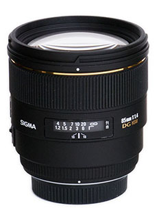 $100 off Sigma 85mm F1.4 HSM